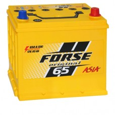 Акумулятор Forse Азія 65 Аг 650 А