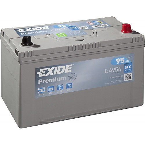 Акумулятор Exide Premium 95 Ah (EA954)