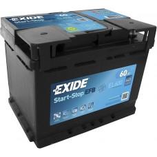 Акумулятор Exide EFB Start-Stop 60 Ah (EL600)
