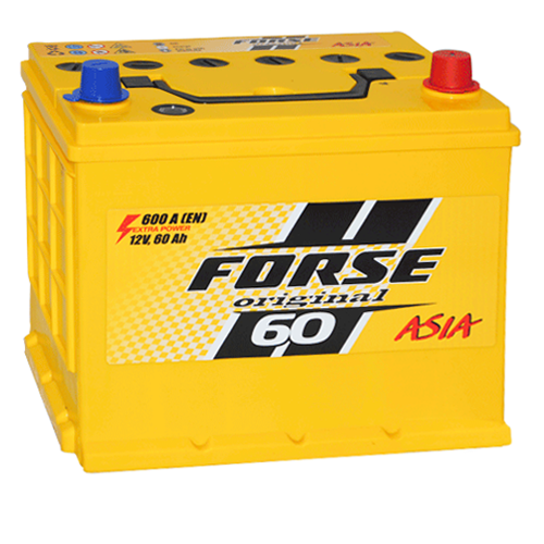 Акумулятор Forse Азія 60 Аг 600 А