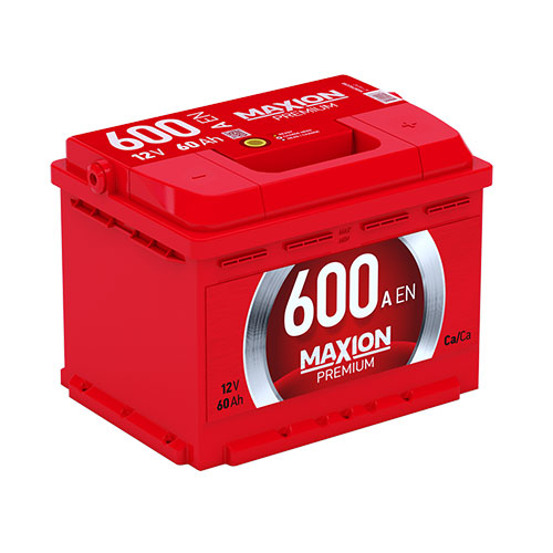 Акумулятор Maxion 60 Аг 600 А