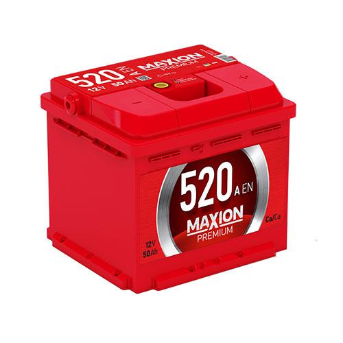 Акумулятор Maxion 50 Аг 520 А