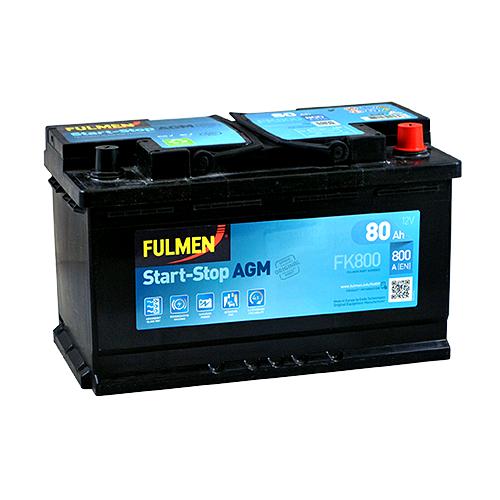 Акумулятор Fulmen AGM 80 Аг 800 А