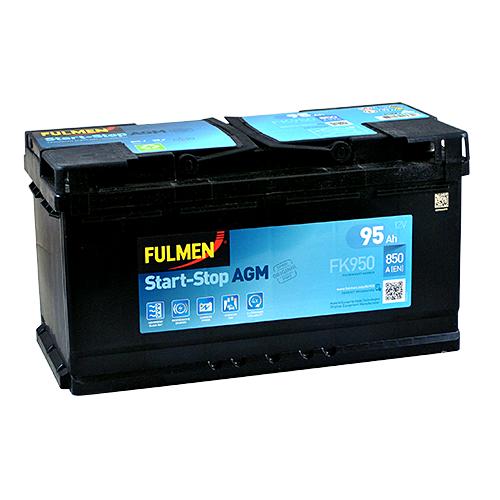 Акумулятор Fulmen AGM 95 Аг 850 А