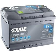 Акумулятор Exide Premium 77 Ah (EA770)