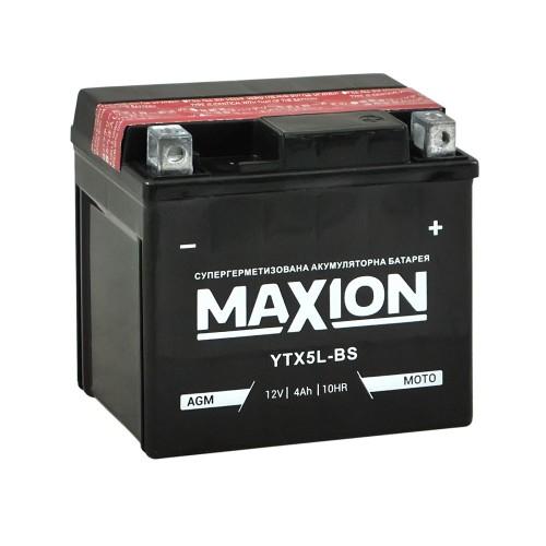 Акумулятор Maxion YTX5L-BS 4Аг 70А