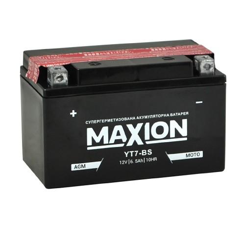 Акумулятор Maxion YTX7A-BS (6Аг, ток 90А)