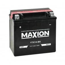 Акумулятор Maxion YTX14-BS (12 Аг, ток 200А)