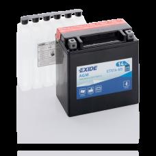Акумулятор Exide ETX16-BS (14Аг, ток 215А)
