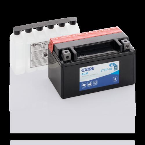 Акумулятор Exide ETX7A-BS (6Аг, ток 90А)