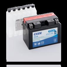 Акумулятор Exide ETZ14-BS (11,2 Аг ток 205А)