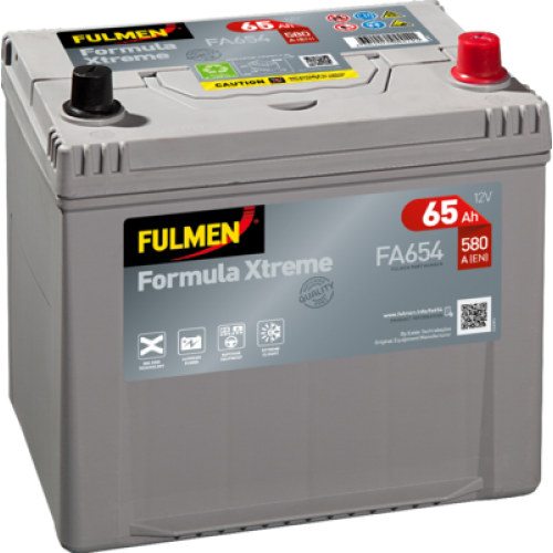 Акумулятор Fulmen Formula Xtreme 65 Аг 580 А