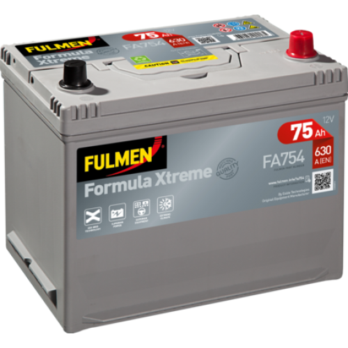 Акумулятор Fulmen Formula Xtreme Азія 75 Аг 630 А