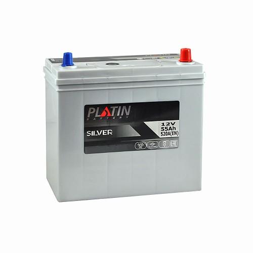 Акумулятор Platin Silver Азія 55 Аг 520 А