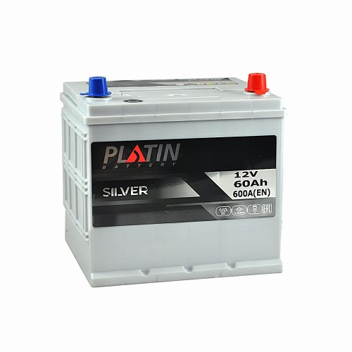 Акумулятор Platin Silver Азія 65 Аг 650 А