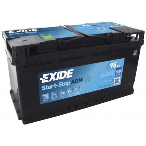 Exide AGM Start-Stop 95 Ah (EK950) 850 А